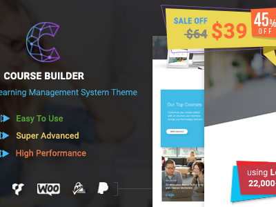 Course Builder | WordPress Learning Management System Theme & Elearning Software (Education)