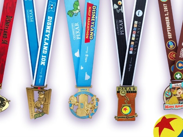 runDisney: First Look at Disneyland Half Marathon Medals Inspired by Disney Pixar