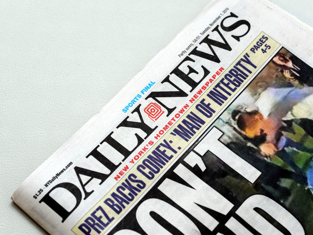 Some Daily News jobs are moving to Chicago