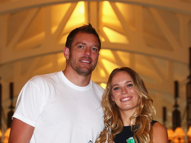 Wozniacki writes beautiful note to David Lee