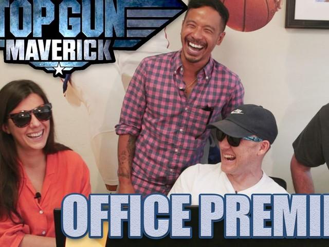 'Office Premieres': 'Top Gun: Maverick' Trailer Reaction