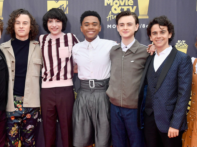 The Kids from 'It' Attend the MTV Movie & TV Awards 2018!