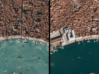Stunning Satellite Images Show What It Looks Like When The World Stops