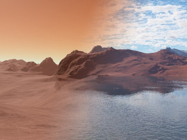 Making Mars habitable might be possible thanks to aerogel