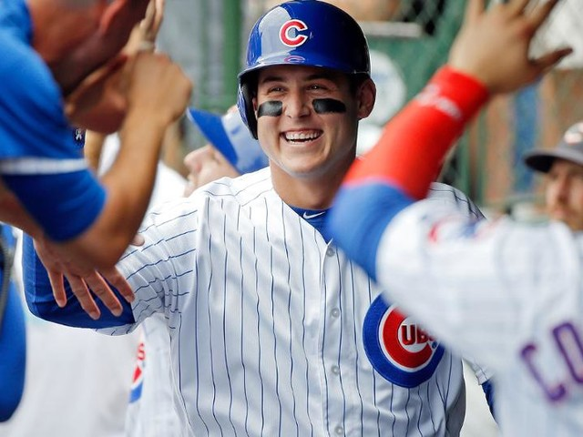 Rizzo leads new-look Cubs lineup past Crew