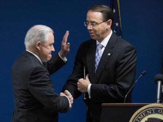 Jeff Sessions, Rod Rosenstein target cartels, gangs with new Justice Dept. task force