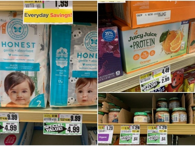 ShopRite Clearance Finds for This Week – Honest Diapers, Juicy Juice & More!