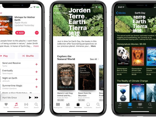 Apple Celebrates Earth Day 2019