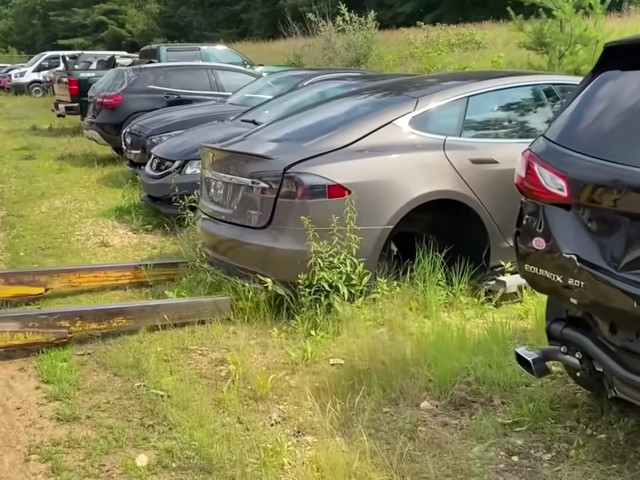 First V8 Tesla Swap Proves How Different They Are From Gas Cars