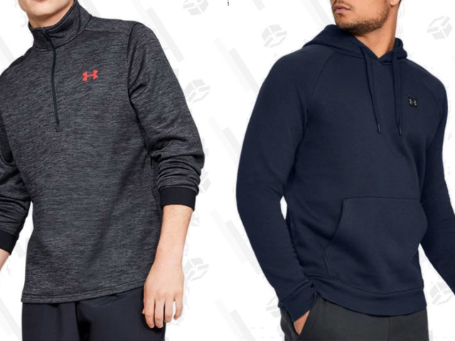 Stock Up On Fleece Hoodies and Joggers During This Under Armour Sale