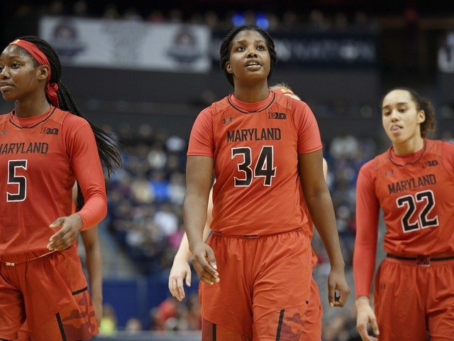 No. 15 Maryland women roll to 114-45 victory over Loyola (Md.)