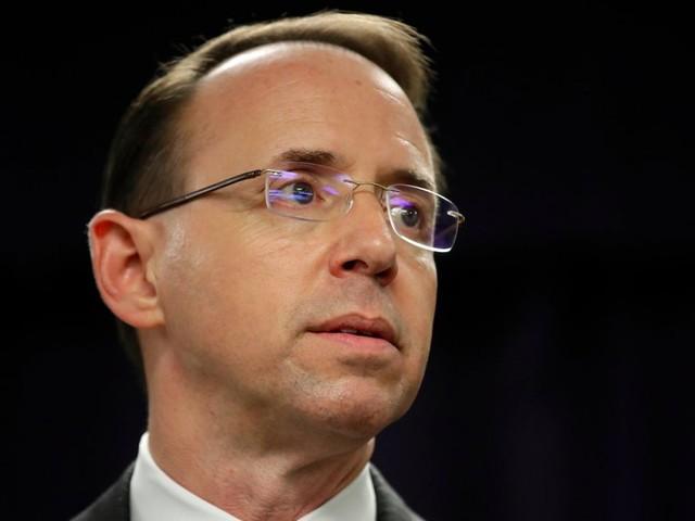 Robert Mueller's investigators interviewed Rod Rosenstein, who is overseeing the Russia investigation