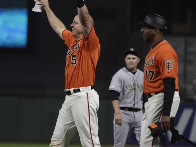 Giants set off fireworks after 18-inning win at 1 a.m., wake up angry neighbors