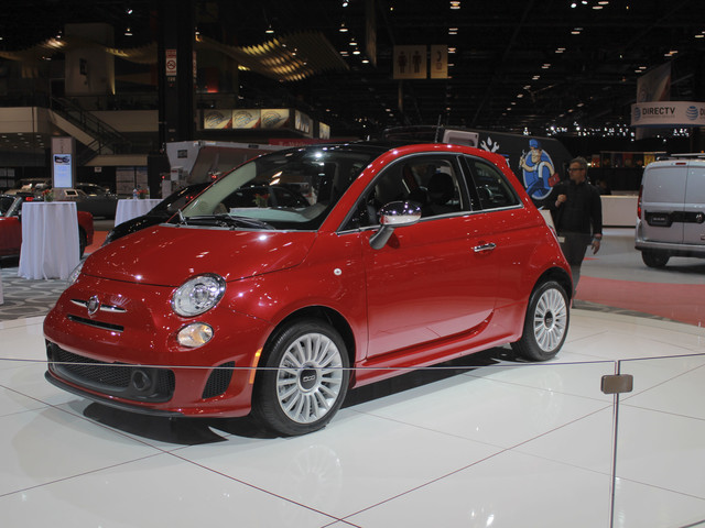 Fiat Adds Turbo Fun Across The 500 Lineup At Chicago Auto Show
