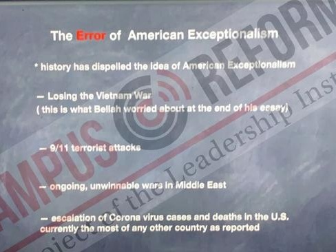 """UCSB Professor Uses Religion Class To Teach About """"Error"""" Of """"American Exceptionalism"""""""