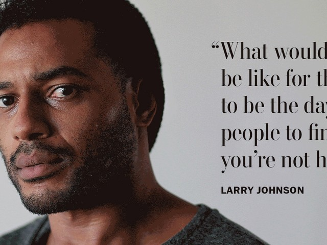 Ex-NFL player Larry Johnson grapples with violent urges and memory loss. He thinks it's CTE.