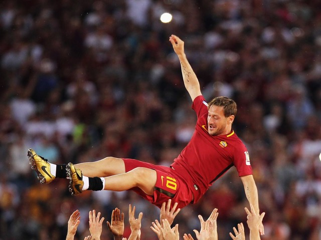Francesco Totti was Roma's greatest son