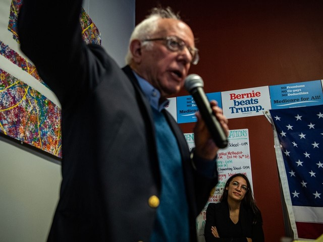 Bernie Sanders faces barrage of attacks from rivals as polls point to surge in early-voting states