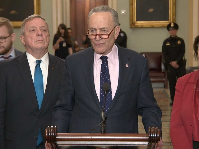 Schumer: Let the Senate work its 'bipartisan will'
