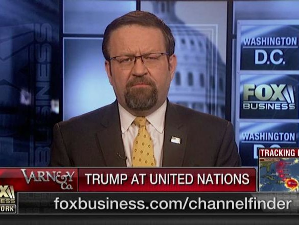 Sebastian Gorka on President Trump United Nations (UN) Address, White House Resignation