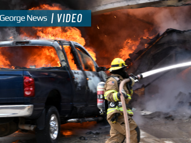 House fire burns through home, injures resident