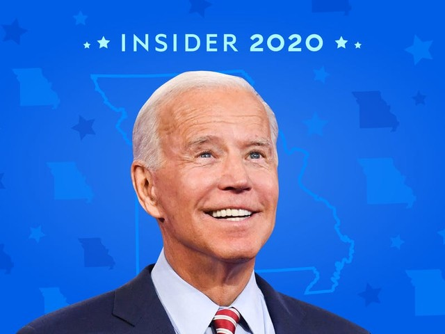 It was a fairly early call for Joe Biden in Missouri. He was projected to sweep in every district — and he delivered.
