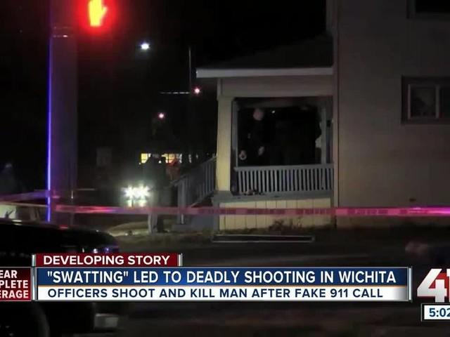Prankster blamed after police shoot, kill unarmed Kansas man