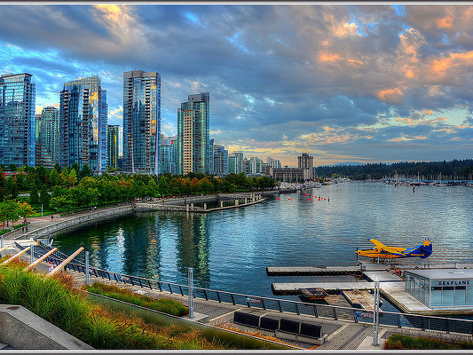American – $344: Miami – Vancouver, Canada. Roundtrip, including all Taxes