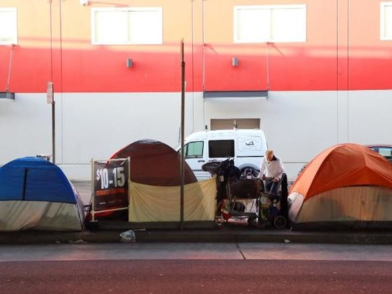 CA Wildfires Make Homeless Crisis Even Worse