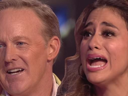 Dancing With The Stars: Sean Spicer FINALLy gets eliminated as Ally Brooke earns perfect 10s twice