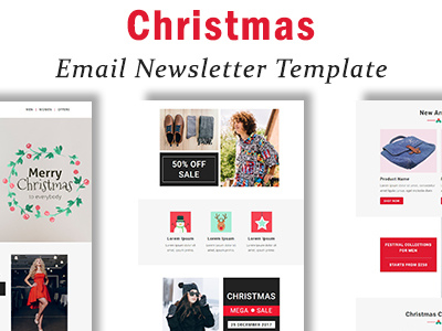 Christmas - Responsive Email Template with Stampready Builder Access (Newsletters)