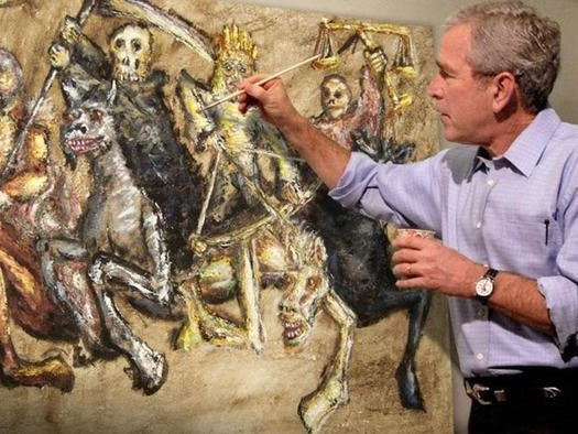 """Iran """"Dangerous"""" To World: George W. Bush Weighs In On Gaza Crisis & Nuclear Deal"""