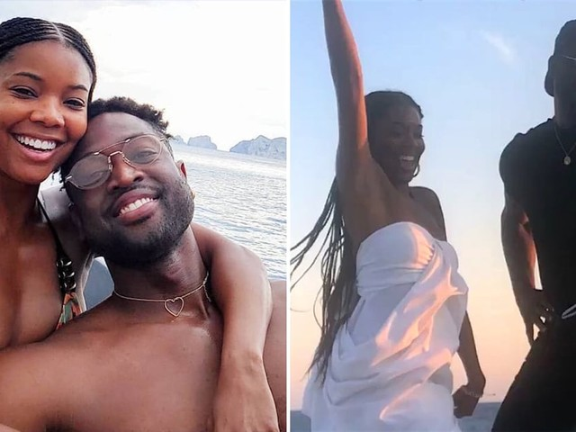 Gabrielle Union and Dwyane Wade Epitomize Mom and Dad Goals on Their Family Trip in Italy