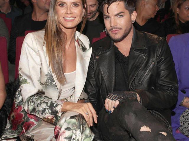 Heidi Klum & Adam Lambert
