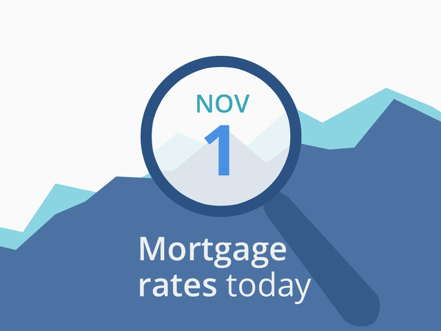 Mortgage rates today, November 1, 2019, plus lock recommendations