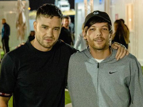 Liam Payne Reunites with Louis Tomlinson at Madrid Concert!