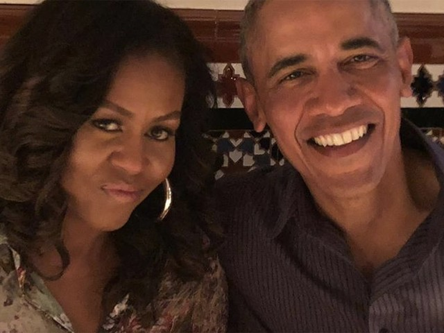 """Barack and Michelle Obama Pen Sweet 28th Anniversary Tributes to Each Other: """"So Grateful"""""""