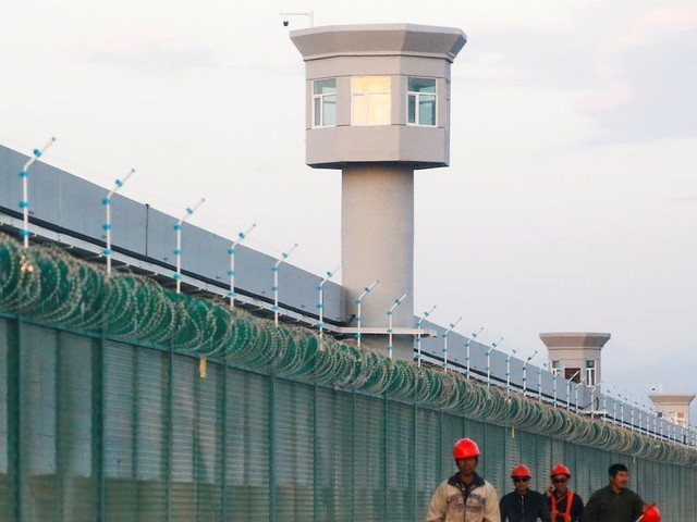 Uighur activists say China is running nearly 500 detention camps and prisons in Xinjiang based on satellite images
