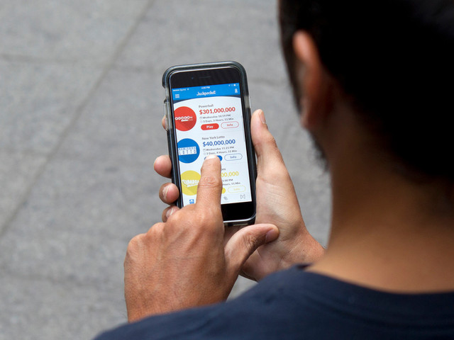 Newly legalized 'Jackpocket' app buys lottery tickets for you