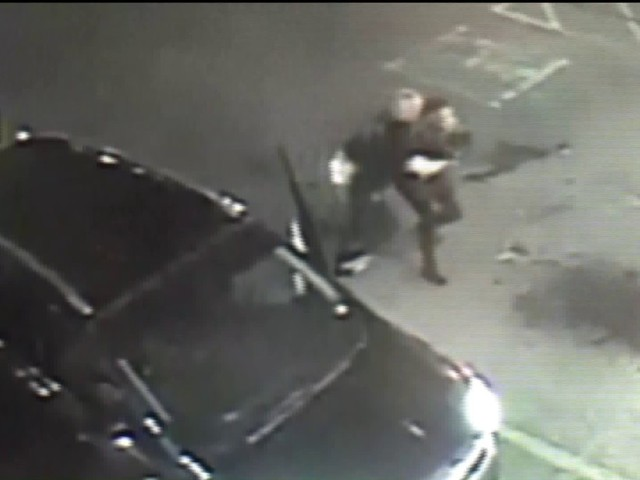 Video shows man tackle woman, throw her phone in road rage incident