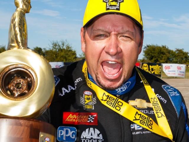 Robert High, Brittany Force win at AAA Texas NHRA FallNationals