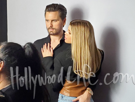 Sofia Richie Snuggles Up To Scott Disick At Launch Of Her Rolla's Jeans Collection — See PDA Pic