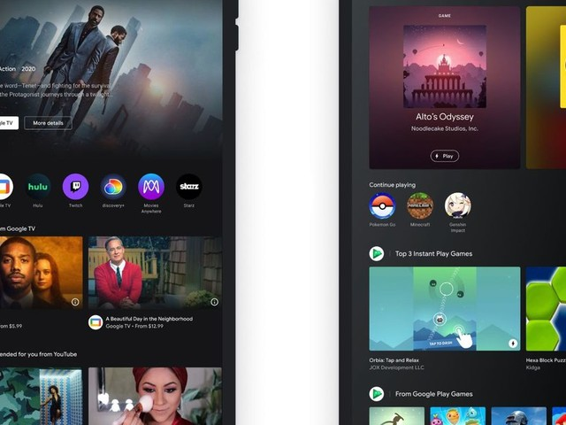 Google's Entertainment Space for Android tablets puts videos, games, and books in one place