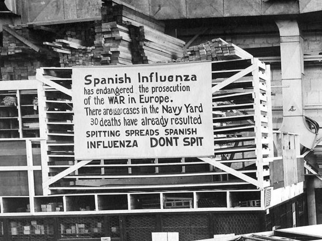 Is The Coronavirus Pandemic About To Become Another Spanish Flu
