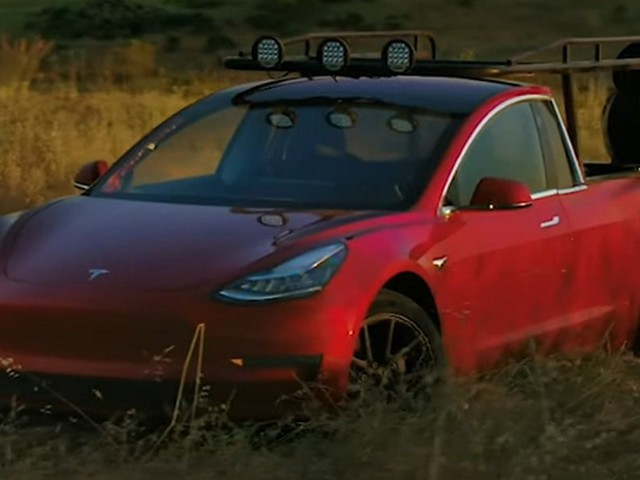 Meet The Truckla: A Tesla Model 3 Based Pickup