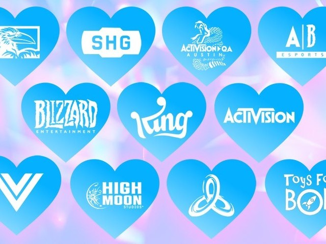 Social Media Images Created to Show Support for Activision Blizzard Employees