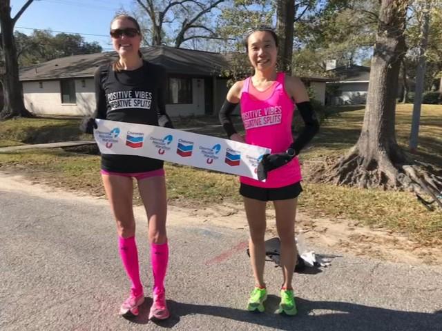 Houston runners make virtual Chevron Houston Marathon their own race