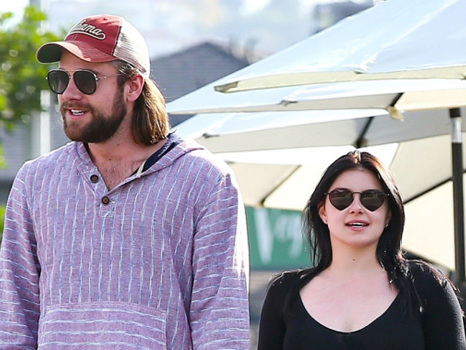 Ariel Winter & BF Luke Benward Snuggle In New Pics As He Sends His 'Bunny' Love On Her 22nd B-Day