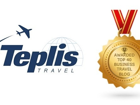 Teplis Named in Top 40 Global Business Travel Blog List