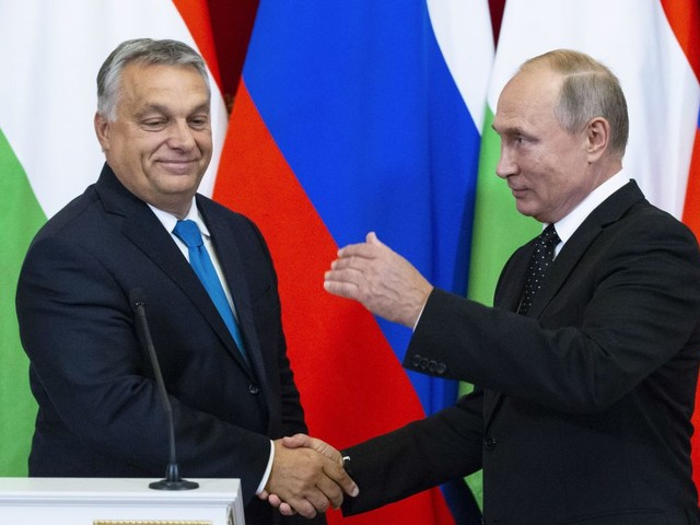 Report: Trump soured on Ukraine after Putin, Orban influence